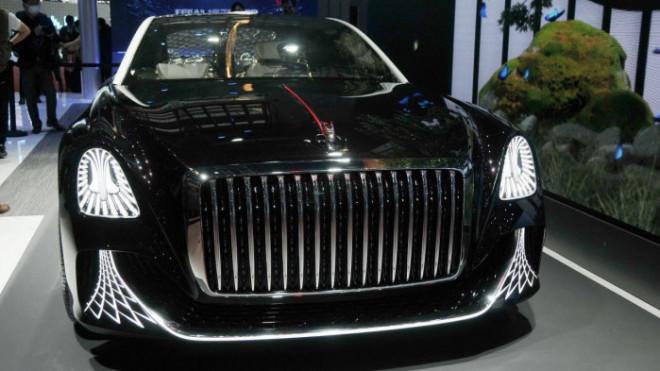 Cận cảnh ô tô Trung Quốc không vô lăng vừa ra mắt - 4