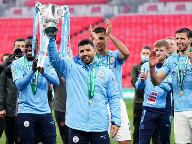 """Man City vô địch Cúp Liên đoàn 4 mùa liên tiếp, tiến gần giấc mơ """"ăn 3"""""""