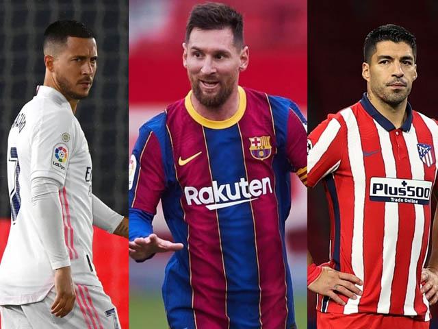 """Chóng mặt bảng xếp hạng La Liga: Real hòa - Atletico thua sốc, Barca """"ngư ông đắc lợi"""""""