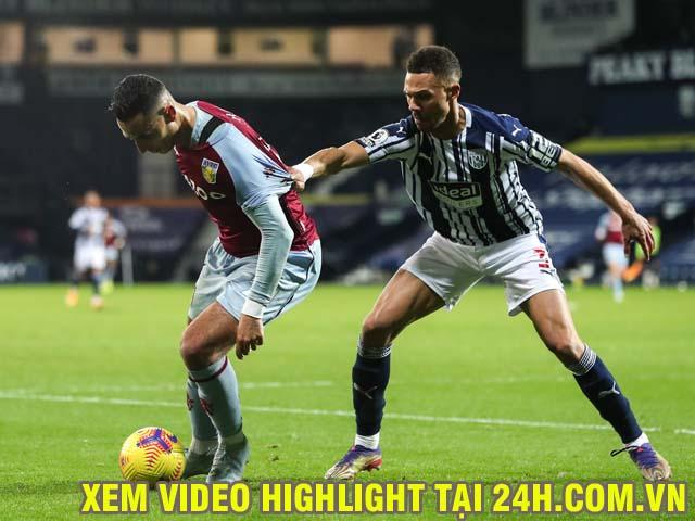 Video Aston Villa - West Brom: Căng thẳng hai quả penalty, vỡ òa phút bù giờ