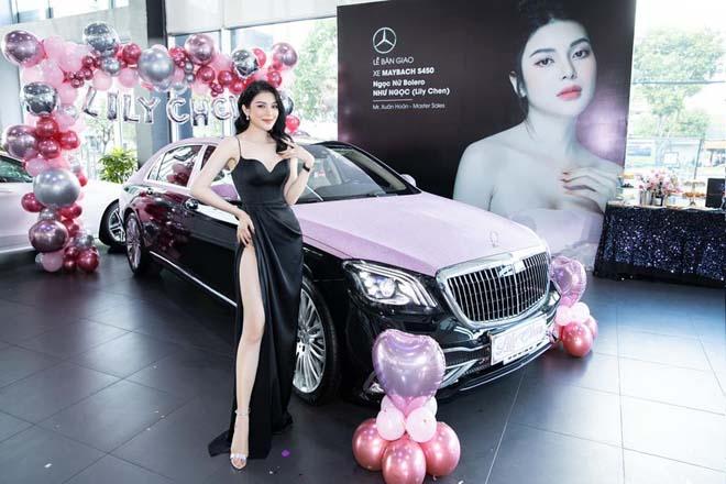 """""""Ngọc nữ Bolero"""" Lily Chen tậu Mercedes-Maybach S450 gần 8 tỷ đồng - 1"""