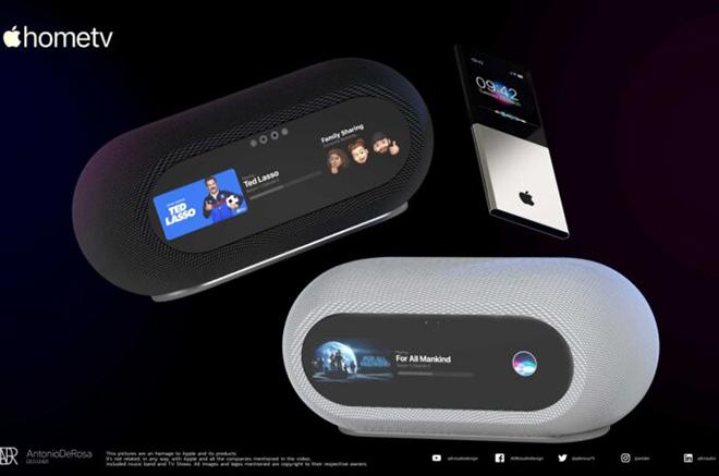 Mê mẩn với ý tưởng Apple Home TV - 1
