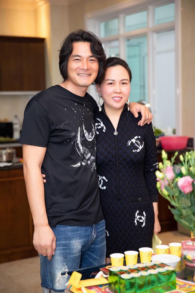Nữ doanh nhân chia sẻ, cô và Quách Ngọc Ngoan chia tay trong hòa bình, không xảy ra mâu thuẫn và hiện tại vẫn giữ quan hệ bạn bè.