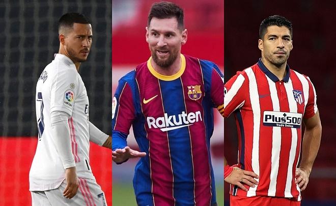 """Chóng mặt bảng xếp hạng La Liga: Real hòa - Atletico thua sốc, Barca """"ngư ông đắc lợi"""" - 1"""