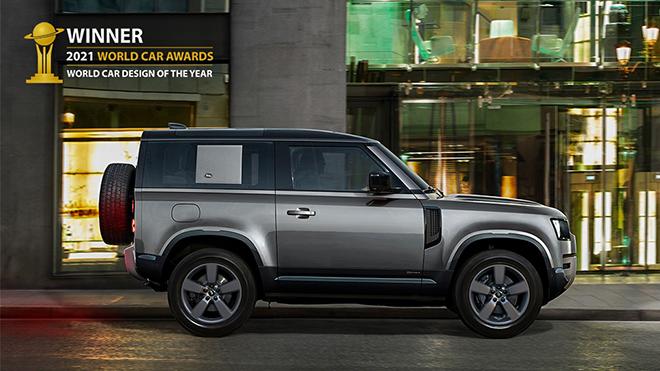 Land Rover Defender đoạt giải xe có thiết kế đẹp nhất năm 2021 - 3