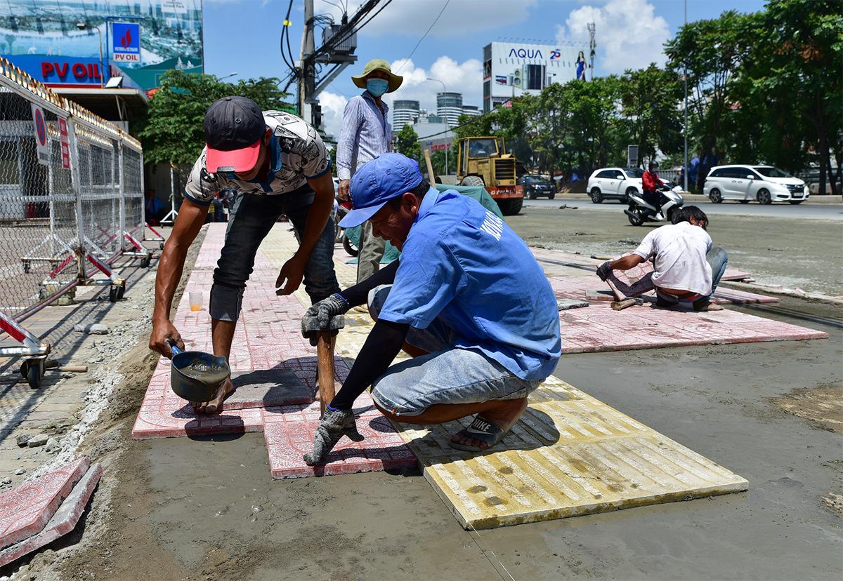 """""""Rốn ngập"""" ở Sài Gòn trước ngày hoàn thành sửa chữa - 5"""