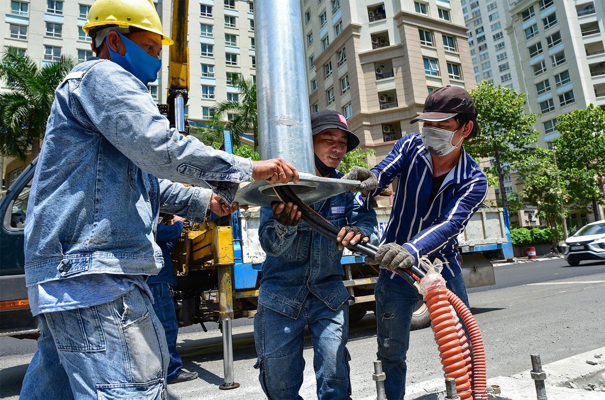 """""""Rốn ngập"""" ở Sài Gòn trước ngày hoàn thành sửa chữa - 6"""