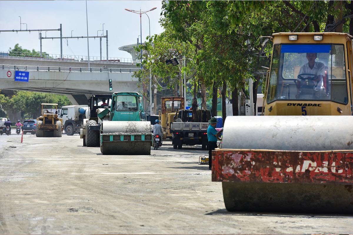 """""""Rốn ngập"""" ở Sài Gòn trước ngày hoàn thành sửa chữa - 9"""