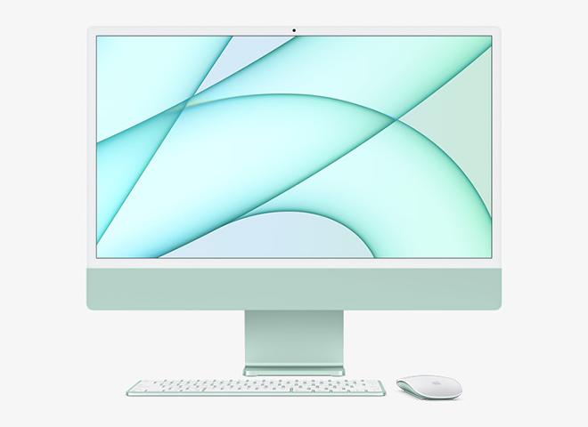 iMac 2021 ra mắt với tùy chọn màu rực rỡ, giúp dân văn phòng đổi gu - 1