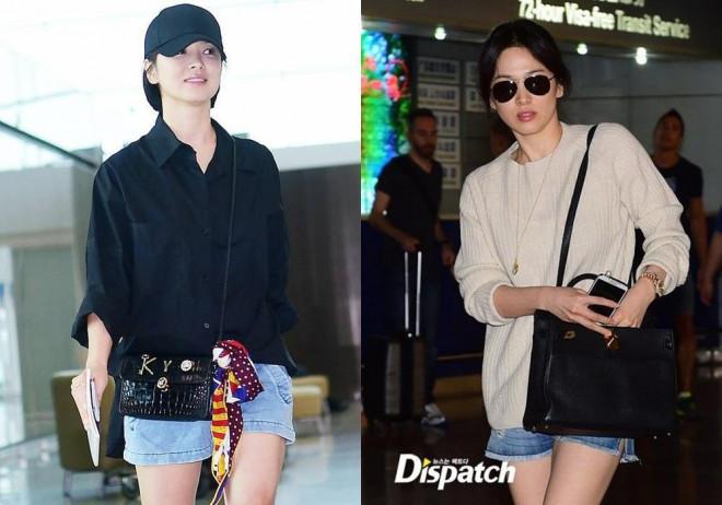 """Song Hye Kyo vướng ồn ào trang phục: Phong cách giản dị hay """"Siêu giàu siêu tiết kiệm""""? - 1"""