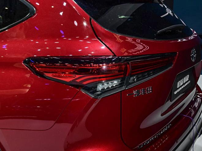 Cận cảnh biến thể SUV của dòng xe Toyota Crown tại Trung Quốc - 8