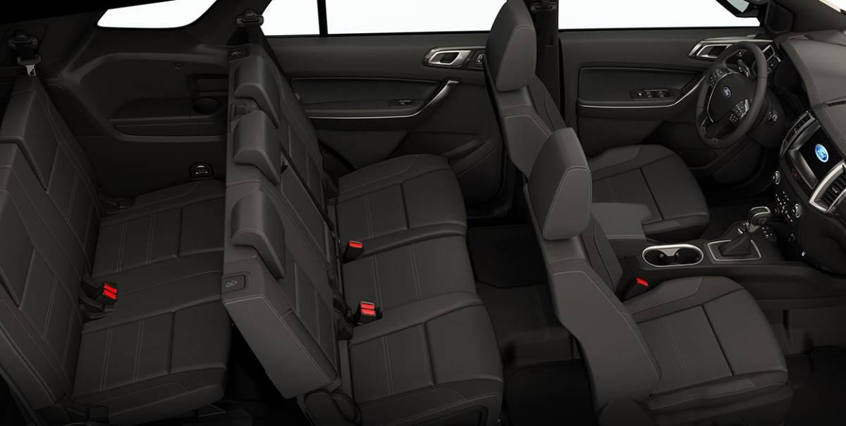 Ford Everest vs Hyundai SantaFe: Bạn thích hầm hố chắc khỏe hay sang trọng tiện nghi? - 5