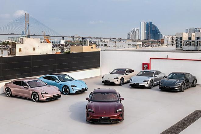 Loạt xe điện Porsche Taycan chính hãng có mặt tại Việt Nam, giá bán từ hơn 4,7 tỷ đồng - 3