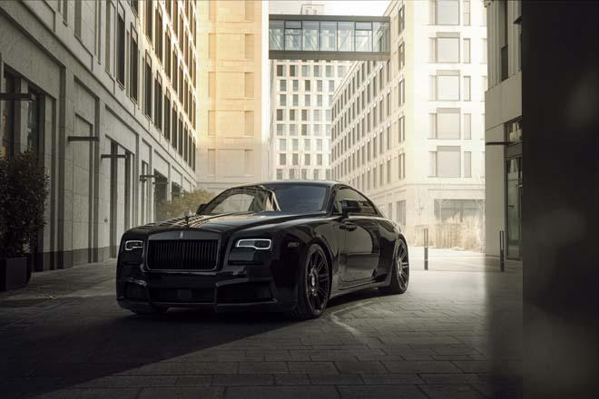 Rolls-Royce Black Badge Wraith biến hình chất ngất qua tay hãng độ Spofec Overdose - 1