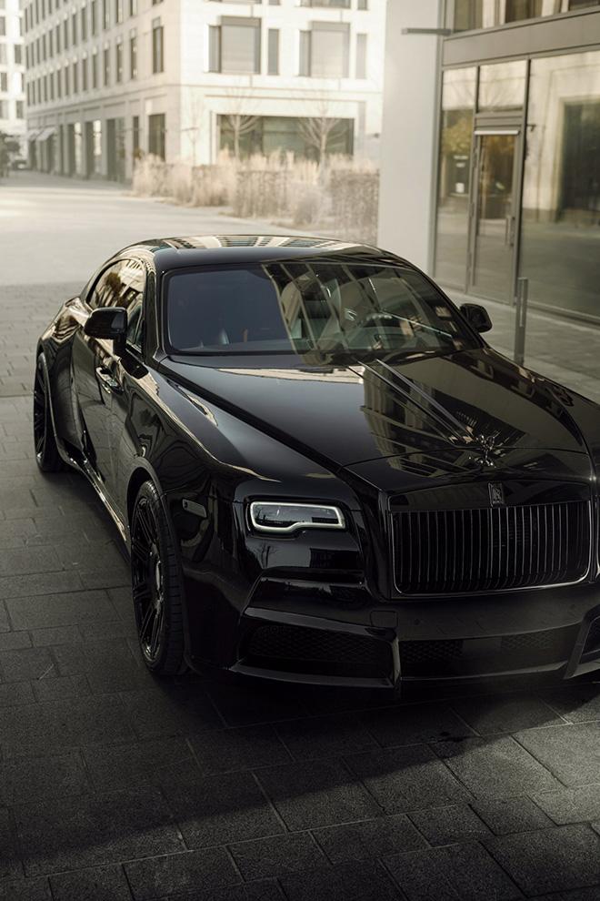 Rolls-Royce Black Badge Wraith biến hình chất ngất qua tay hãng độ Spofec Overdose - 11