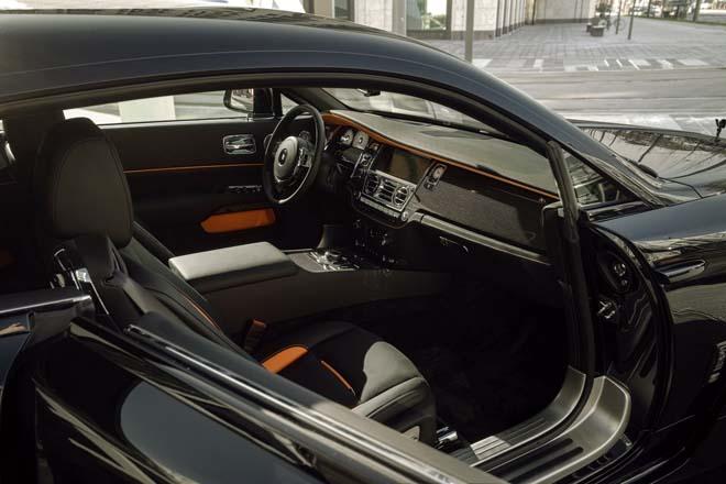 Rolls-Royce Black Badge Wraith biến hình chất ngất qua tay hãng độ Spofec Overdose - 9