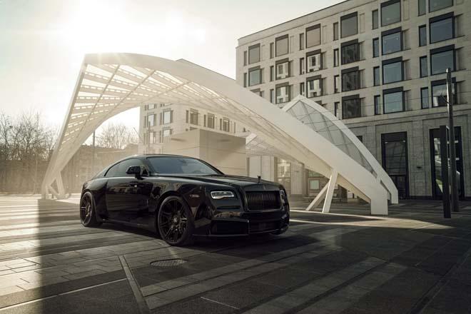 Rolls-Royce Black Badge Wraith biến hình chất ngất qua tay hãng độ Spofec Overdose - 3