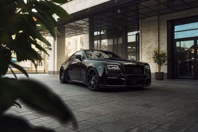 Rolls-Royce Black Badge Wraith biến hình chất ngất qua tay hãng độ Spofec Overdose - 6