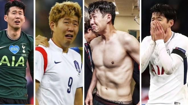 Son Heung Min và dàn sao mau nước mắt: Messi, Ronaldo từng khiến fan ám ảnh - 1