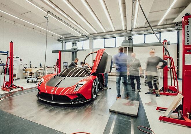 Siêu xe Hongqi Trung Quốc chính thức ra mắt, mạnh 1.400 mã lực và giá bán hơn 50 tỷ đồng - 6