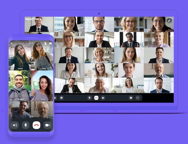 Video call miễn phí cùng lúc 30 người trên Viber - 1