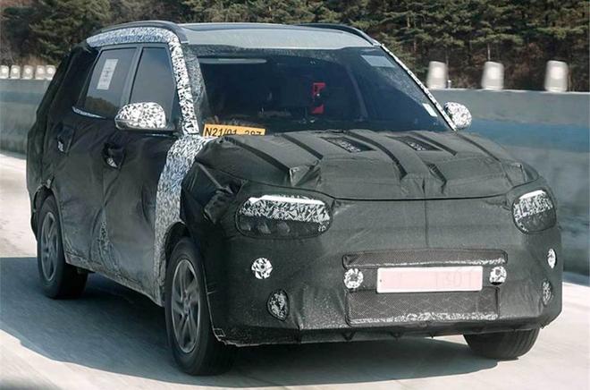 Kia đang phát triển một mẫu MPV cỡ nhỏ cạnh tranh với Mitsubishi Xpander - 3