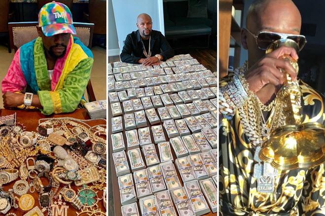 """Mayweather phải """"mãi võ"""" kiếm tiền, hành trình """"đốt sạch"""" tỷ đô - 1"""
