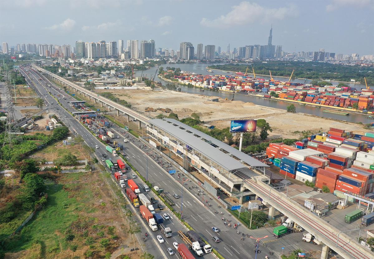 Những công trình giao thông nổi bật của TP.HCM sau 46 năm giải phóng - 17