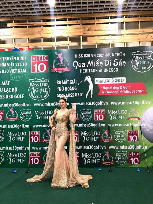 """Á hậu Miss U30 Việt Nam Đặng Hà Thanh xinh đẹp lộng lẫy trong sự kiện """"Qua Miền Di Sản"""" - 1"""
