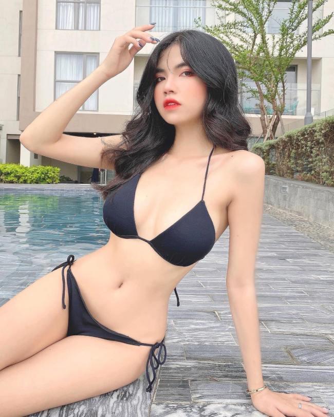 Theo đuổi hình ảnh nóng bỏng, phong cách thời trang quyến rũ nên Mai Dora phải chặn facebook của bố mẹ.