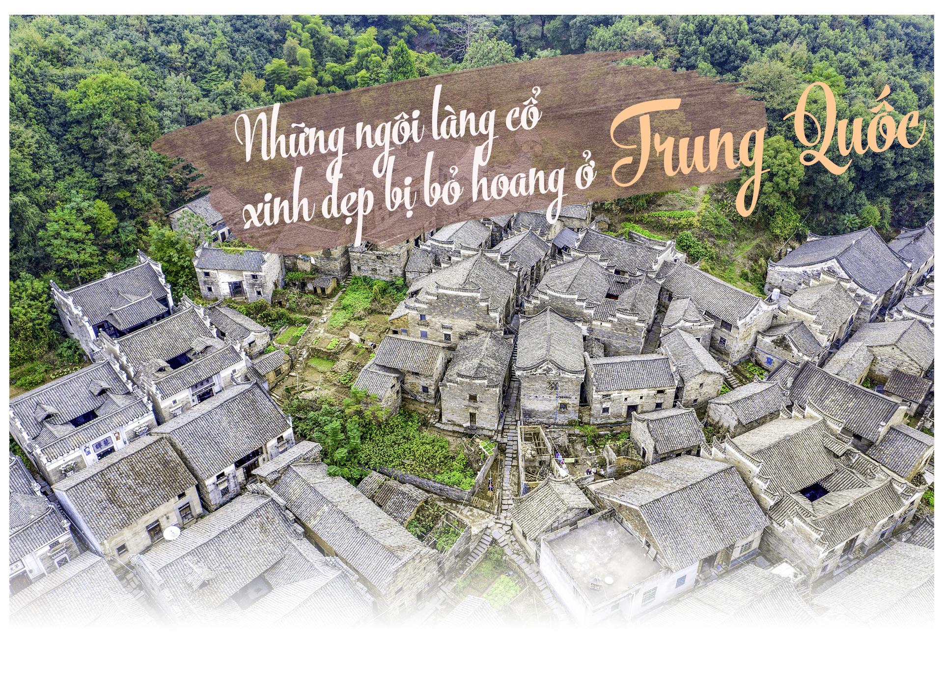 Ám ảnh những ngôi làng cổ xinh đẹp bị bỏ hoang ở Trung Quốc - 1