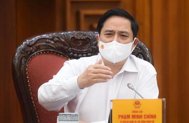 Thủ tướng Phạm Minh Chính họp khẩn về phòng, chống dịch COVID-19 - 1