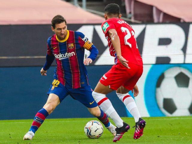 Video Barcelona - Granada: Messi mở điểm, ngược dòng không tưởng