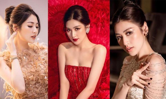 Nhan sắc 'thăng hạng' ngày càng xinh đẹp của Á hậu Tú Anh sau khi sinh quý tử đầu lòng - 1
