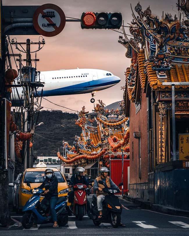 7. Cuộc sống giống như một chuyến bay dài, thật tuyệt khi có thể trở về nhà, Đài Bắc, Đài Loan.