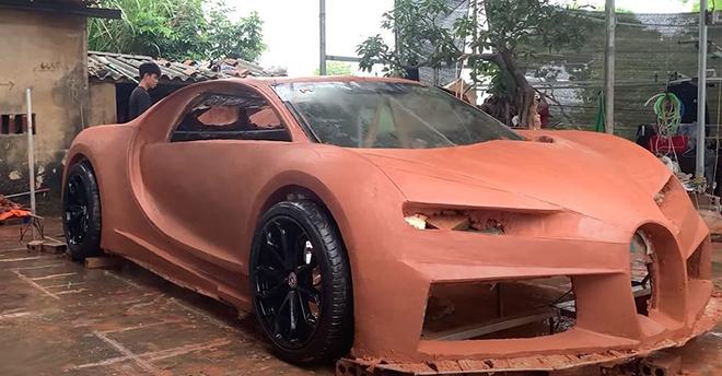 """Bugatti Chiron phiên bản đất sét """"made in Việt Nam"""" gây sốt truyền thông quốc tế - 3"""