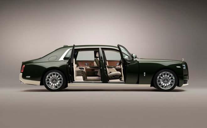 Chiêm ngưỡng cực phẩm xa xỉ Rolls-Royce Phantom Oribe x Hermès - 5