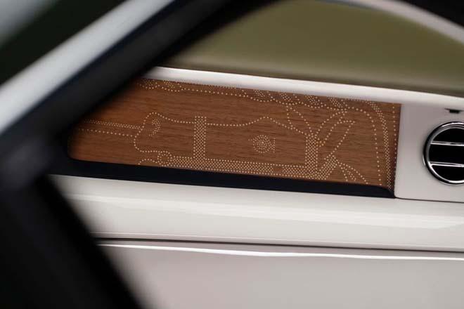 Chiêm ngưỡng cực phẩm xa xỉ Rolls-Royce Phantom Oribe x Hermès - 8