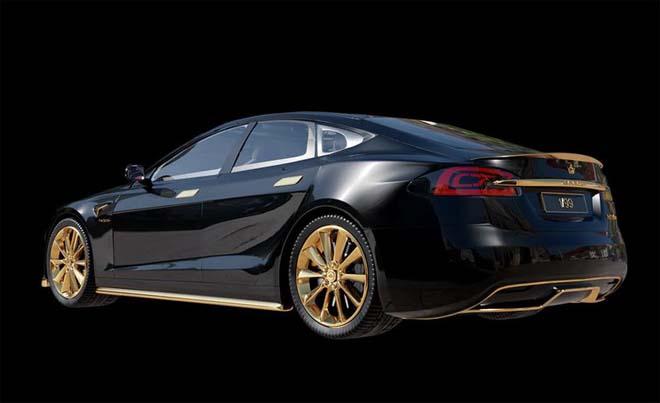 """Tesla Model S """"dát vàng 24K"""" đắt ngang ngửa siêu xe - 7"""