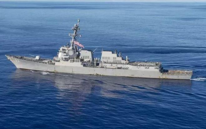Bắc Kinh khiếu nại việc tàu chiến Mỹ bám đuổi tàu sân bay Trung Quốc đang tập trận - 1