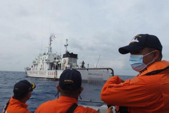 """Philippines: Trung Quốc """"hành động nguy hiểm"""" trên biển Đông - 1"""