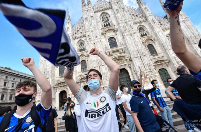 Inter lật đổ Juventus sau 9 năm, triệu fan ăn mừng bất chấp Covid-19 - 1