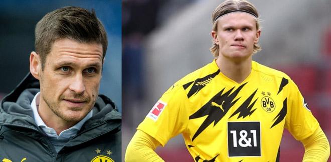 Sếp lớn Dortmund tiết lộ tương lai của Haaland: Real, MU sốc nặng - 1