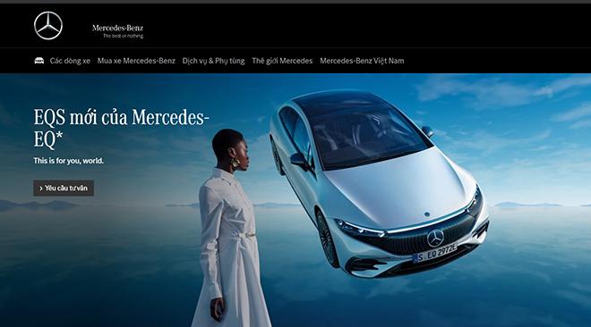Xe điện Mercedes-Benz EQS sắp có mặt tại Việt Nam - 1