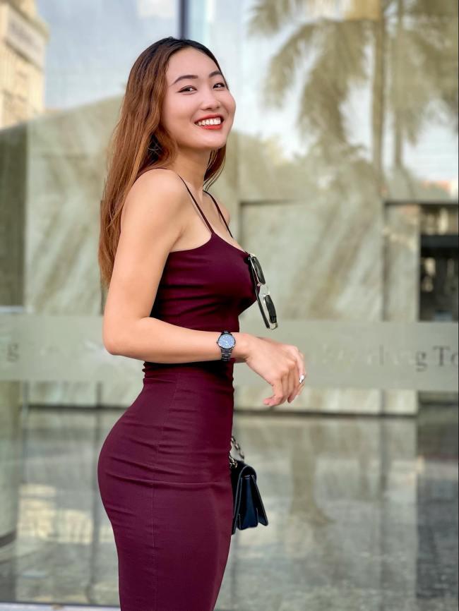 Nguyễn Giáng Tiên là một gymer nổi tiếng gốc Bình Thuận.