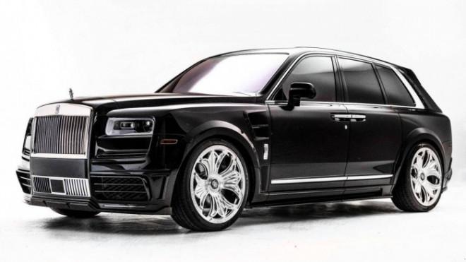 Cận cảnh Rolls-Royce Cullinan của rapper Drake mang nội thất đen huyền bí - 7