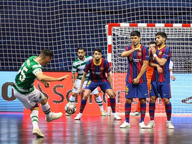 Barcelona cay đắng tuột ngôi vương châu Âu sau cuộc rượt đuổi kịch tính giải futsal - 1