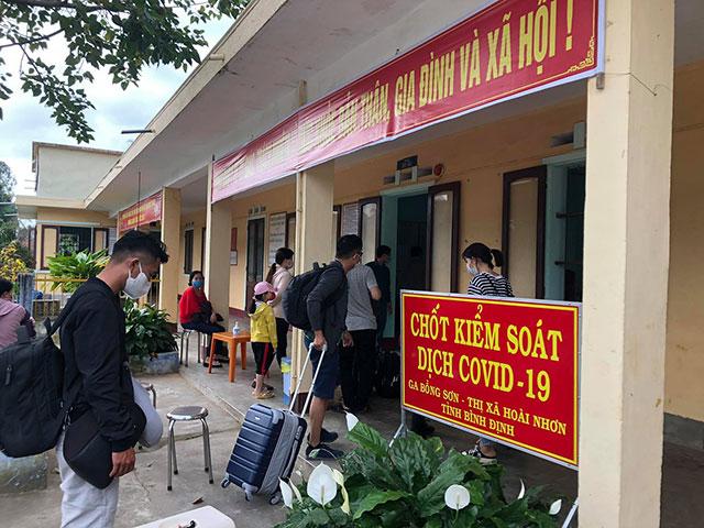 Bình Định: Đã có kết quả xét nghiệm các trường hợp tiếp xúc với bệnh nhân COVID-19 ở Đà Nẵng - 1