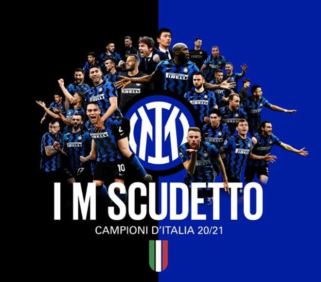 """Inter Milan vô địch Serie A nhờ """"siêu thần tài"""": Đá đâu ăn đó, 9 cúp sau 10 năm - 1"""