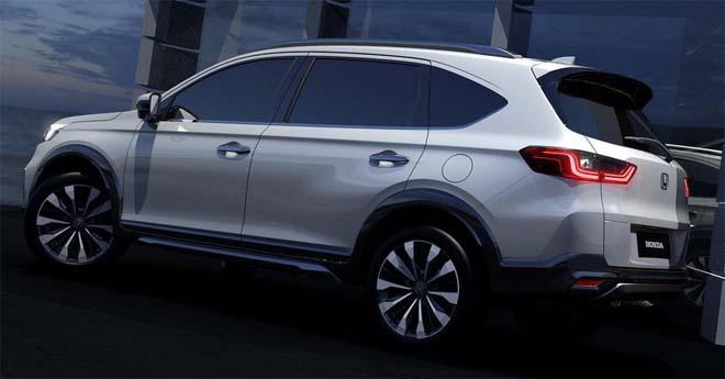 Vén màn MPV lai SUV 7 chỗ hoàn toàn mới của Honda - 4